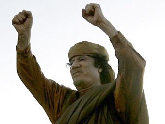 Муаммар Кадаффи. Фото ©AFP