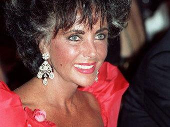 Элизабет Тейлор, 1987 год. Фото ©AFP