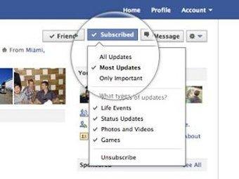 Facebook ввел кнопку «Подписаться»