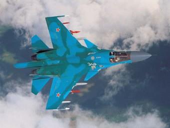 Западный военный округ получит 14 бомбардировщиков Су-34