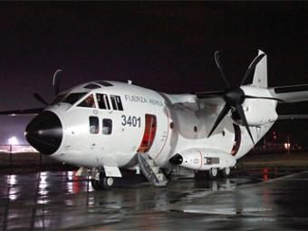 Sамолет C-27J на мексиканските ВВС
