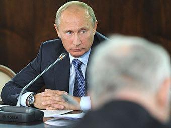 Владимир Путин на заседании Координационного совета ОНФ. Фото РИА Новости, Яна Лапикова