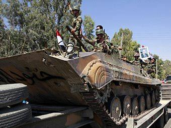 Сирийские солдаты. Фото (с)AFP