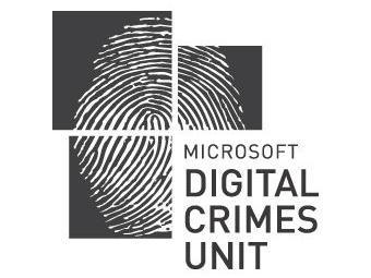 Логотип подразделения Microsoft, занимающегося расследованием киберпреступлений.