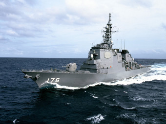 "Эсминец ""Миоко"" Морских сил самообороны Японии. Фото с сайта defenseindustrydaily.com"