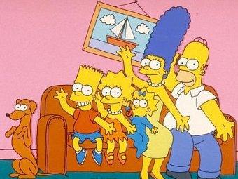 """Кадр из сериала """"Симпсоны"""""""