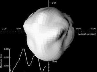 Компьютерная модель Минервы. Иллюстрация авторов исследования