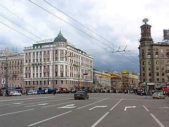 Пушкинская площадь. Фото