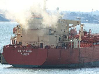 "Танкер ""Кейп Берд"". Фото с сайта marinetraffic.com"