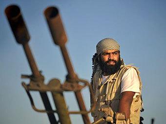 Солдат Национального переходного совета. Фото ©AFP