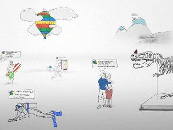 Кадр из презентации Google Buzz