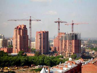 Стройка в Новосибирске. Фото с сайта sib.net