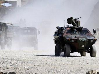 Колонна турецкой армии. Фото ©AFP