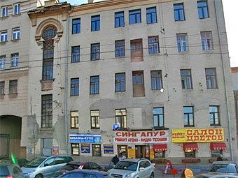 """Дом 8 по Садовой-Кудринской улице. Изображение из сервиса """"Яндекс.Карты"""""""