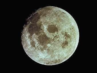 """Британец принял Луну за """"странный светящийся объект"""""""