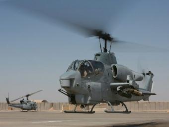 AH-1W Корпуса морской пехоты США. Фото с сайта aircav.net