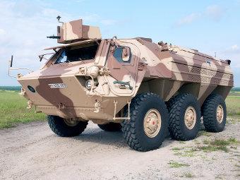 Fuchs 1A8. Фото с сайта rheinmetall-defense.com