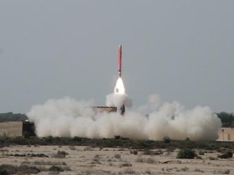 Hatf-VII. Фото с сайта defense-update.com