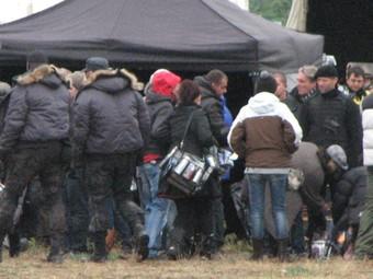 """Съемочная группа """"Неудержимых 2"""". Фото с сайта expendablespremiere.com"""