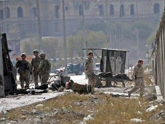 На месте теракта в Кабуле, 29.10.2011. Фото ©AFP