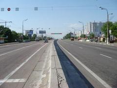 Схема организации движения изменилась на Варшавском шоссе в связи с открытием трех боковых проездов на участке от...