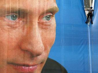 Путин разрешил единоросам использовать себя в предвыборной кампании Picture