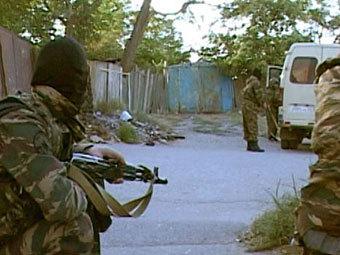 Спецоперация в Дагестане. Фото RFE/RL