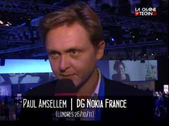 Пол Амселлем, кадр из видеоролика с сайта lachainetechno.tv