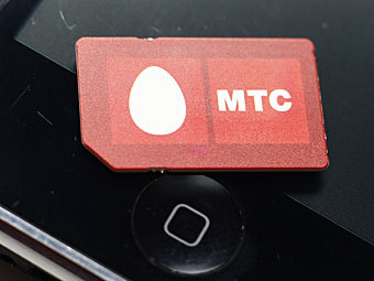 SIM-карта МТС. Фото РИА Новости, Виталий Белоусов