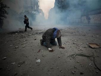 Площадь Тахрир 20 ноября 2011 года. Фото ©AP