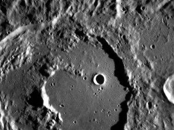 Кратер Калидасы. Фото NASA/Messenger
