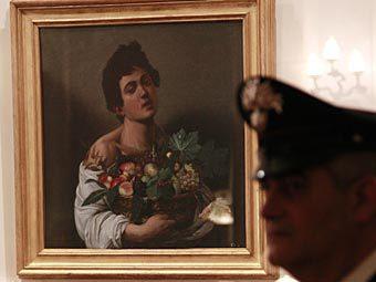 """""""Мальчик с корзиной фруктов"""". Фото РИА Новости, Валерий Левитин"""