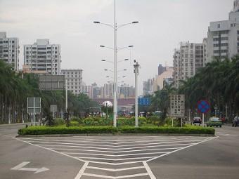 Вид на Чжухай. Фото Vmenkov с сайта wikipedia.org