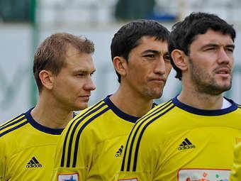 """Футболисты """"Анжи"""". Фото с официального сайта клуба"""