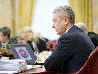 Сергей Собянин. Фото пресс-службы мэрии Москвы