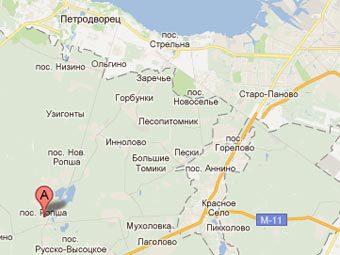 Карта с сайта Google Maps