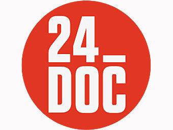 """Новый логотип телеканала """"24 Док"""""""