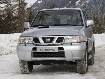 Nissan Terrano. Фото Nissan