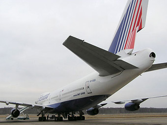"Самолет авиакомпании ""Трансаэро"". Фото с сайта avia.ru"