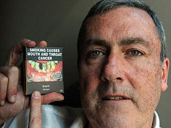 Глава австралийского отделения British American Tobacco Дэвид Кроу. Фото ©AFP