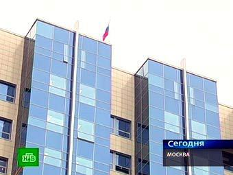 Здание Следственного комитета. Кадр телеканала НТВ
