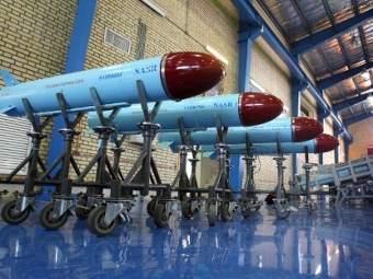 Иранские ракеты. Архивное фото ©AFP