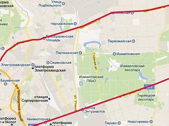 Щелковское шоссе и шоссе Энтузиастов. Изображение с сайта genplanmos.ru