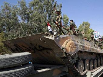 Сирийские солдаты. Фото ©AFP