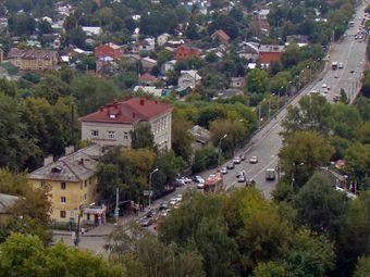 Вид на улицу Ванеева в Нижнем Новгороде. Фото пользователя Bestalex с сайта Википедии