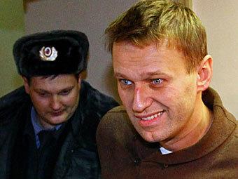 Алексей Навальный в Тверском суде. Фото РИА Новости, Андрей Стенин