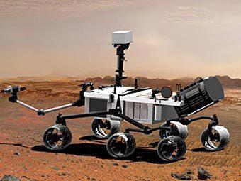 Марсоход MSL. Изображени с сайта nasm.si.edu