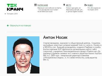 Профиль Антона Носика