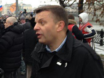 Леонид Парфенов на Болотной площади. Фото Олега Кашина