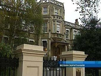 Посольство РФ в Лондоне. Кадр Первого канала, архив